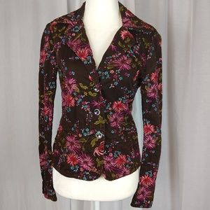 Johnny Was Embroidered Jacket Blazer Size XS EUC